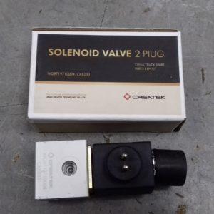 Электропневмоклапан 2х контактный (соленоид) Howo Createk CK8233 | WG9719710004